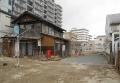 なくなった「旧川越織物市場」の建物