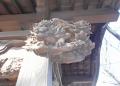 柱の彫刻②