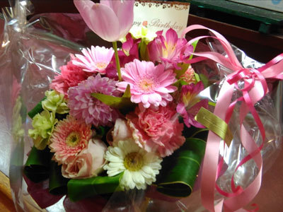 BDプレゼントお花