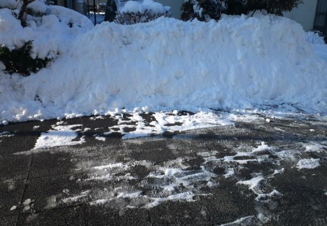 2018年1月雪