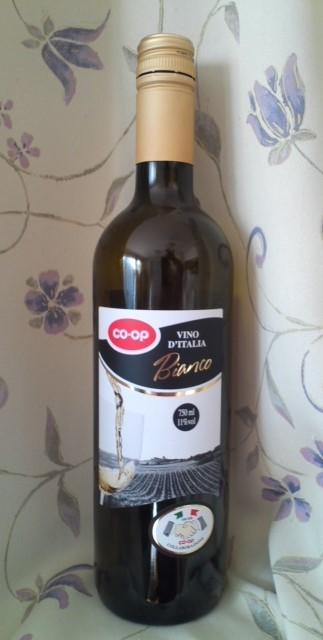 CO-OP「VINO D'ITALIA Bianco(コープイタリアのワイン 白)
