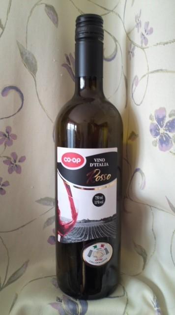 CO-OP「VINO D'ITALIA Rosso(コープイタリアのワイン 赤)