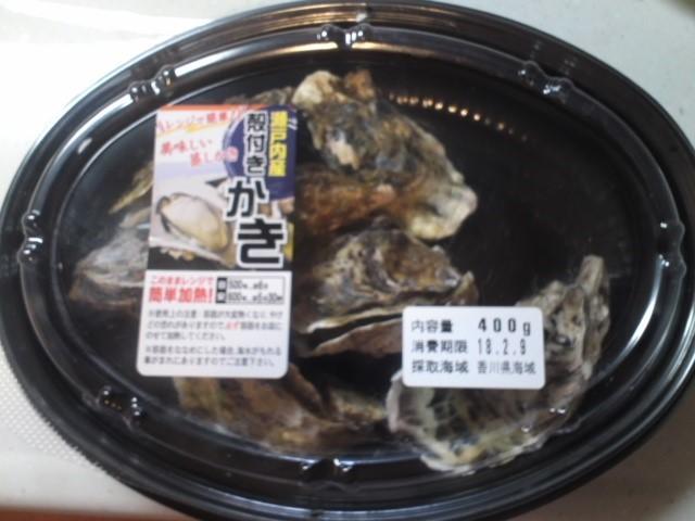 殻付き牡蠣の美味しい食べ方