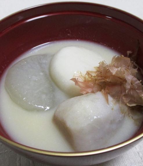京都のお雑煮 拡大