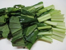 小松菜湯葉 調理