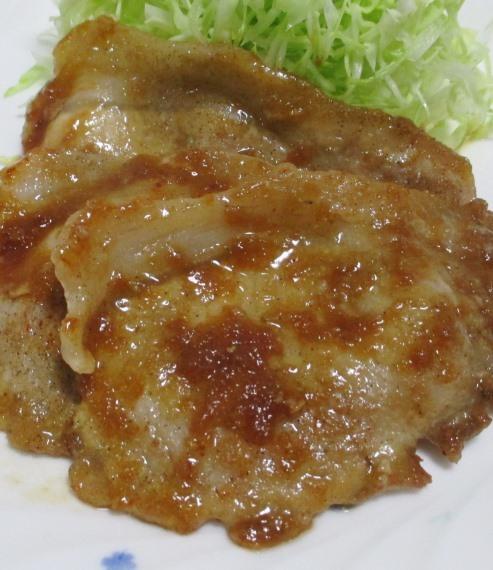 豚ロース玉ねぎ醤油焼き B