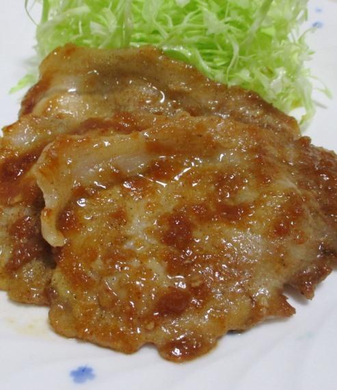 豚ロース玉ねぎ醤油焼き 大