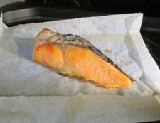 塩鮭キャベツ 調理①