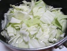 塩鮭キャベツ 調理②