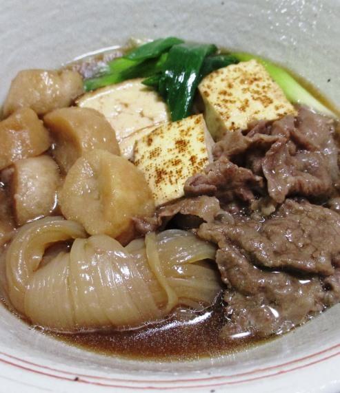 牛肉と麩の煮物 拡大
