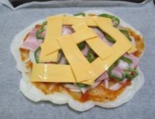 お餅ピザ 調理⑤
