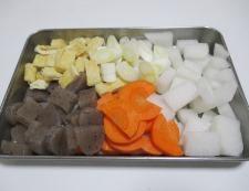 塩鮭粕汁 調理②