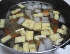 塩鮭粕汁 調理③