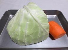 キャベツのピリ辛ナムル 材料①