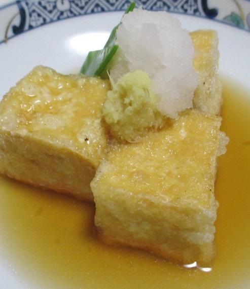 揚げ出し豆腐 B