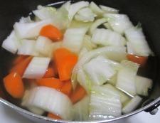 白菜ベーコン 調理③