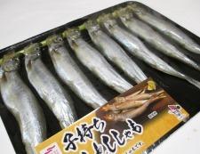 ししゃもの青海苔フライ 材料①