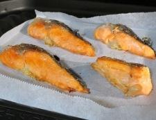 鮭アラみぞれ和え 調理①