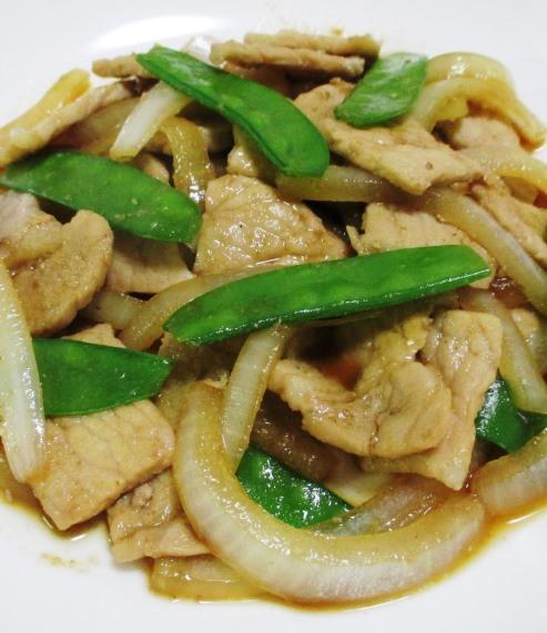 豚ロースの甘辛山椒焼き B