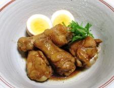 鶏手羽元の甘辛煮 調理⑥