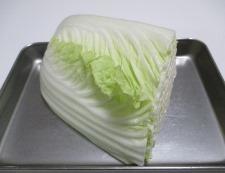 豚バラと白菜の炒め物 材料②