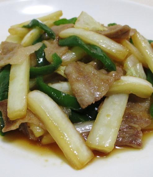 豚バラと白菜の炒め物 B