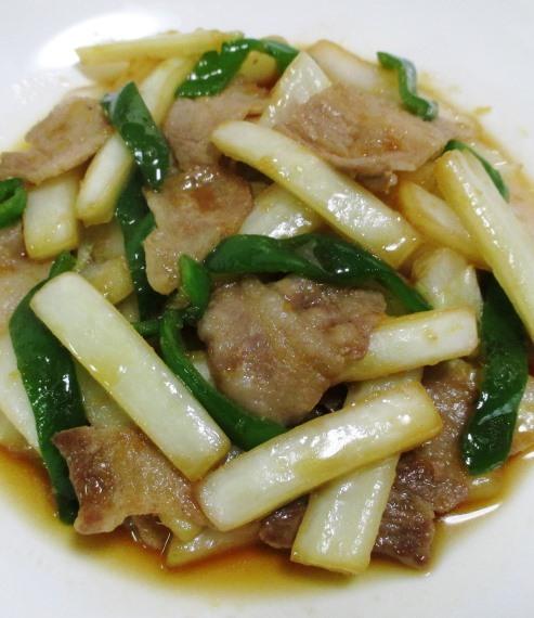 豚バラと白菜の炒め物 大