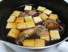 豚肉と絹揚げの煮物 調理④