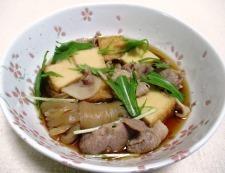 豚肉と絹揚げの煮物 調理⑥