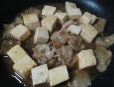 豚バラ豆腐 調理④
