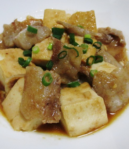 豚バラ豆腐 大