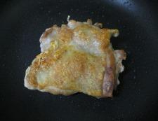 鶏もも肉と白菜のしょうが煮 調理②