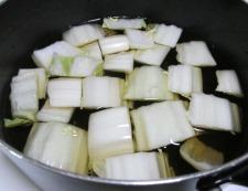 鶏もも肉と白菜のしょうが煮 調理⑤