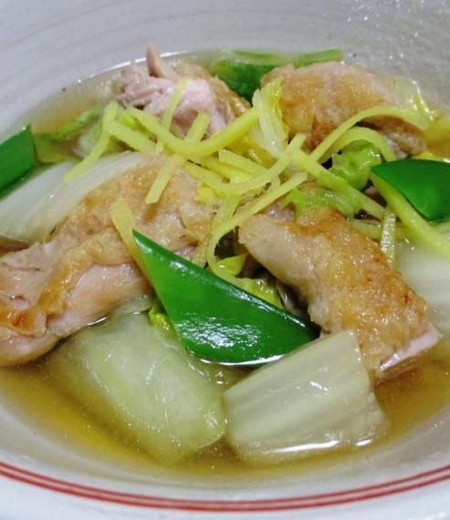 鶏もも肉と白菜のしょうが煮 B