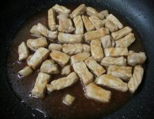 オイスターソースしょうが焼き 調理④
