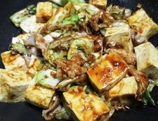 キャベツと豆腐のホイコーロー風 調理⑥