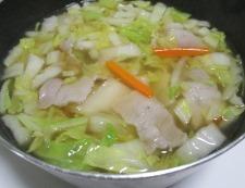 白菜スープ 調理⑤