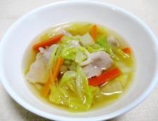 白菜スープ 調理⑥
