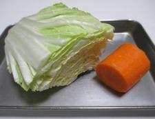 白菜スープ 材料①
