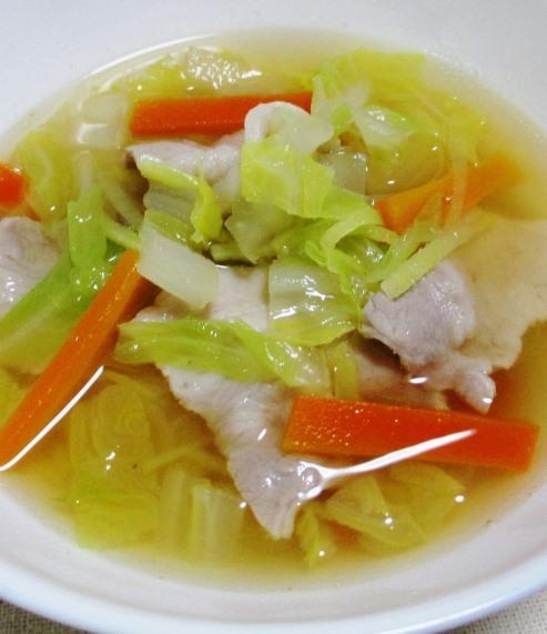 白菜スープ 大