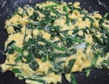 ニラ玉炒め 調理③