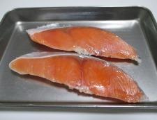 甘塩鮭の炊き込みご飯 材料①