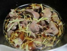 鶏レバーの甘辛煮 調理⑤