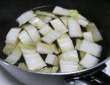カニカマ白菜 調理②