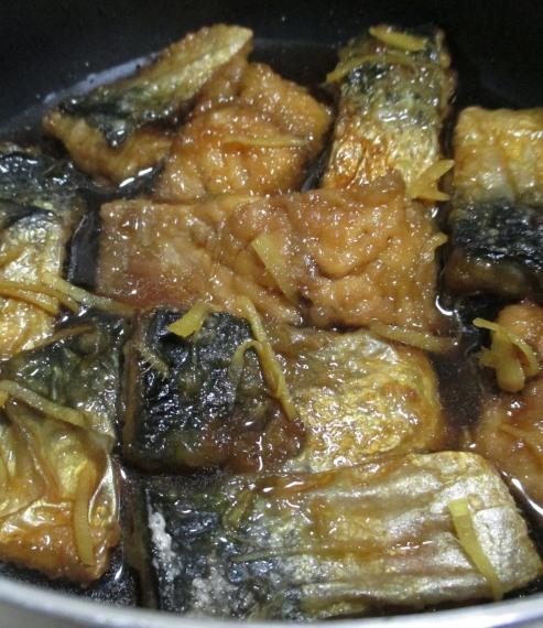 サバの甘辛しょうが煮 拡大
