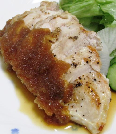 鶏むね肉のステーキ B