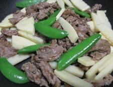 牛肉のオイスターソース炒め 調理⑤
