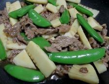 牛肉のオイスターソース炒め 調理⑥