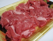 牛肉のオイスターソース炒め 材料①
