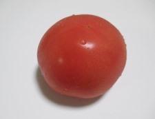 トマトとスナップエンドウ 材料①